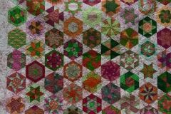 Charlotte Rasmussen: Hexagon Quilt