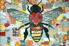 Karen Thompson: Honey Bee Collage