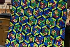 Audrey Flock: Woven Hexagons