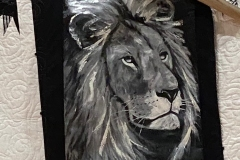 Pat-Peacock_Larry_s-Lion-oil-painting